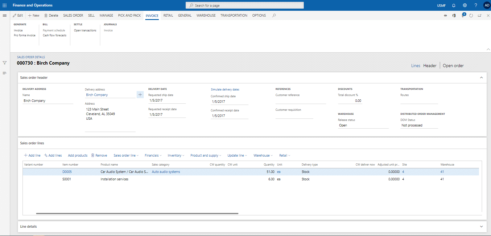 Dynamics 365 for Finance and Operations1