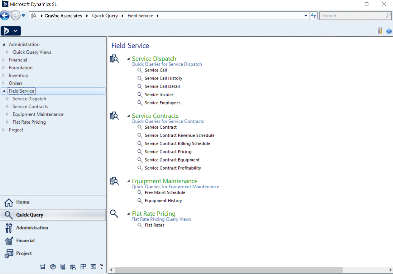 Microsoft Dynamics SL Screenshot 2